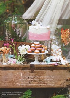 Kids party ideas. Enchanted Wood party from Donna Hay kid's magazine