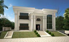 Casa neoclássica moderna