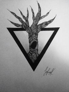 Blackwork Sketch