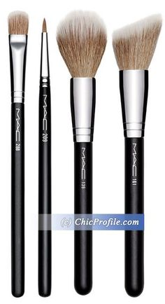 Dual Fibre brushes from the M.A.C Haute Dogs Collection Fall 2015