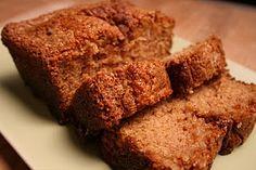 GF EF DF Cinnamon bread