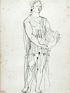 Raoul Dufy (1877 - 1953)  Orphée 1938