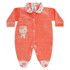 Macacão para Enxoval Gatinha :: 764 Kids Loja Online, Roupa bebê e infantil !