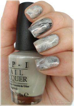 Nageldesign - Marmor, Stein und ... /marble nailart