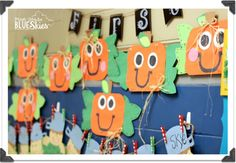 Spookley the Square Pumpkin Craft {and Spiders Close Read} - First Grade Blue Skies