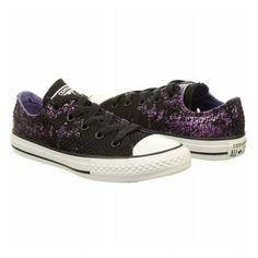 Girls'   Converse Chuck Taylor Low Top Sneaker Pre/Grade School - Black/Hollyhock - FREE SHIPPING at Shoes.com