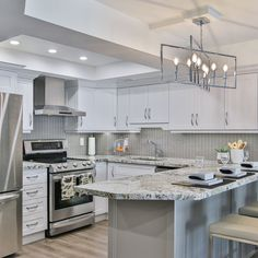 Out of all types of granite, white granite is the truest classic. Its unique, timeless beauty holds great currency in interior design. An elegant, fresh, and classic look of white granite countertops easily incorporates and complements both residential and commercial interior projects.  #granitekitchen #granitecountertops #whitegranite #whitegranitecountertops #customkitchen #granitecountertops #kitchendecor #kitchendesign #kitchenchronicles #interiorstyling #homedecorideas #kitchengoals