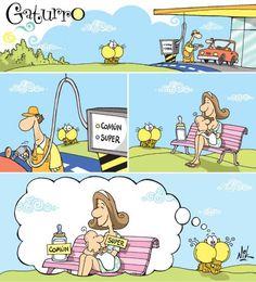 #Lactancia. La lactancia materna es como la gasolina súper! Mucho mejor!