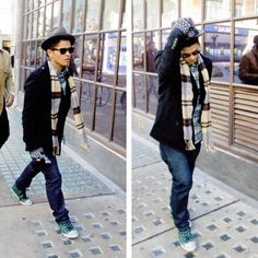 Love the fact he's wearing converse. And it doesn't matter what he wears, he's gorgeous.