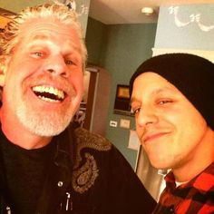 # Sons of Anarchy # SOA # Clay # Juice # Clarence Morrow # Juan Carlos Ortiz # Ron Pearlman # Theo Rossi