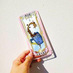 Clear Card, Cardcaptor Sakura, Clamp, Phone Cases, Letters, Phone Case
