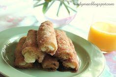 Cinnamon Cream Cheese Roll-Ups