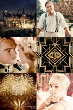 The Great Gatsby + Gold (13. Film)