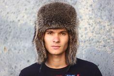 5f37575a Full ushanka fur raccoon by ODENI on Etsy #HM #hats #style #fashion