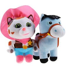 2015 SHERIFF CALLIE'S WILD WEST Kids Lovely Stuffed Plush Toy Soft Doll kid gift