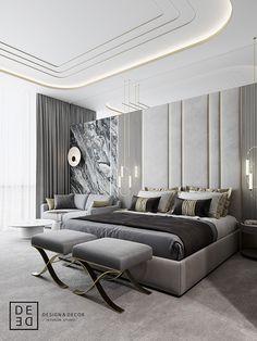 DEDE/Boutique hotel and restaurant design on Behance Modern Bedroom, Bedroom Decor, Plywood Furniture, Home Decor Pictures, Deco Design, Design Design, Home And Deco, Luxurious Bedrooms, Restaurant Design