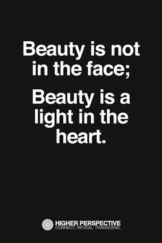 Beauty is in the eye of the beholder!