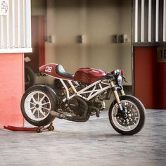 """17.6k Likes, 83 Comments - Cafe Racers of Instagram (@caferacersofinstagram) on Instagram: """"@marc.roissetter took a wrecked Ducati Monster and turned it into the incredible machine that you…"""""""