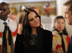 Princess from The Royals Episode 8: The Great Man Down  Eleanor flashes a sincere smile at her brother.