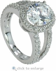 The 2.5 ct. Carlton Oval. Ok this seems silly but this is close to what I had imagined for Bella's ring! Enjoy