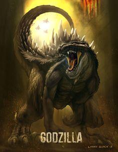 Godzilla by NoBackstreetboys.deviantart.com on @deviantART