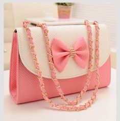Pink bow purse Ideas For Girls