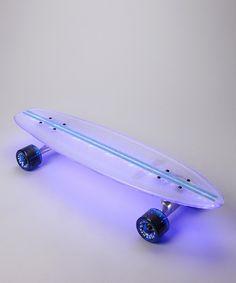 light up skateboards.  cool.