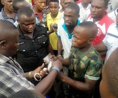 Nigerian army beaten to mash in Warri for allegedly stealing phone Whatsapp / Call 2349034421467 or 2348063807769 For Lovablevibes Music Promotion An unidentified soldier was on Monday beaten to pulp for allegedly stealing an iphone belonging to a young lady on gun point yesterday. DAILY POST gathered that the lady raised alarm at the popular Robson G. Shopping plaza along Okumagba Avenue in Warri after recognizing the soldier. The mobile policemen escorted him to the residence of former…