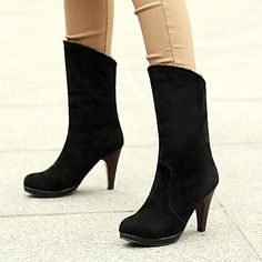 Women's Shoes Round Toe Stiletto Heel Ankle Boots More Colors available – EUR € 24.06