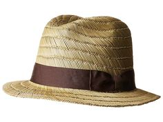 183e047aebb91 Brixton Rollins Fedora (Tan) Fedora Hats. Complete your journey to distant  lands in