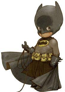 Batman reimagined as a kid
