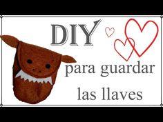 diy, bolsillo, llavero, manualidades, fieltro, facil, muñeco http://www.decoracionpatriblanco.es/2017/02/diy-hacemos-un-porta-llaves.html