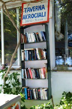 Bookstores, Libraries, Bookshelves, Bookcase, Corfu, Nooks, Home Decor, Bookcases, Decoration Home