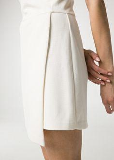 Robe à jupe portefeuille