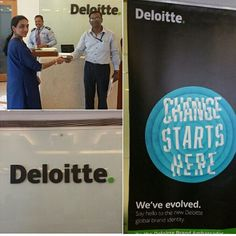 Here's a glimpse of our Deloitte Bangalore office on the day of BI Refresh.