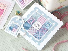 - Stitch this gorgeous matching card and gift tag for pals and relatives, and make their day! Free Cross Stitch Charts, Cross Stitch Freebies, Cross Stitch Cards, Cross Stitching, Cross Stitch Embroidery, Embroidery Patterns, Cross Stitch Patterns, Card Tags, Gift Tags
