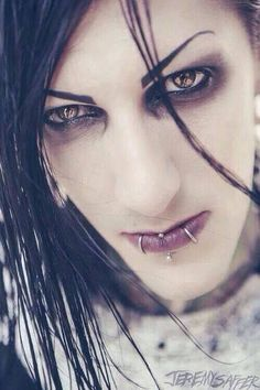 Chris Motionless / Vocalist of the band Motionless In White.