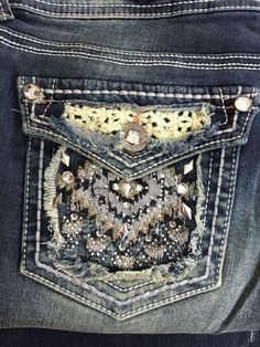 Women's #Wallflower Stretch Embellished Stud Denim Juniors Size13 NWT #Wallflower #BootCut