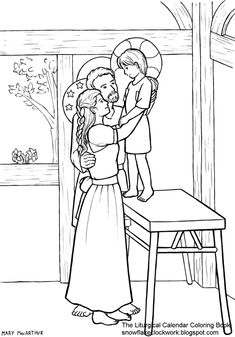 490 Best Catholic Coloring Pages for Kids to Colour images