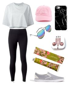 """Bad Hair Day"" by kyra-leee on Polyvore featuring Jockey, Puma, J.Crew, PhunkeeTree, Recover and Yves Saint Laurent"