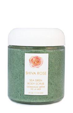 The Lover Gift Guide | Shiva Rose Sea Siren Body Scrub