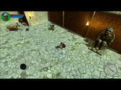 The Dark Book android game first look gameplay español