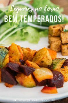 3 segredos para preparar deliciosos legumes ao forno - Blog da Ge