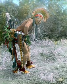 インディアン(ネイティブ・アメリカン)の貴重なカラー化写真 (42)