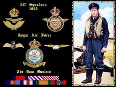 R.A.F. Bomber Pilot, 617° Squadron (The Dam Busters), 1943