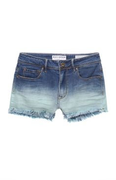 Bullhead High Rise Dip Dye Shorts http://kalifornia-klass-kellyallisson.tumblr.com/