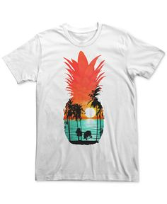 An island vibe punctuates the pineapple-shaped graphic on this Guava Dreams…