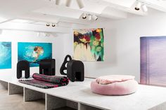 Women designers display objects of protest and empowerment at Chamber gallery New York 2017, New York Galleries, Design Show, Textile Design, Designing Women, Bean Bag Chair, Objects, Display, Gallery