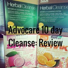 Just The Three of Us: Advocare 10 Day Cleanse Review