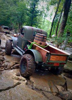 """Dodge Power Wagon named """"Bootlegger"""" - Dodge Trucks, Jeep Truck, Diesel Trucks, Custom Trucks, Lifted Trucks, Cool Trucks, Pickup Trucks, Lifted Ford, Dodge Diesel"""